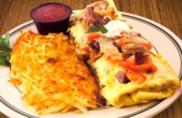 Steak Supreme Omelette