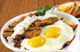 Country Fried Steak Skillet