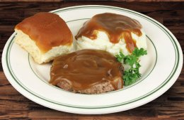Small Hamburger Steak